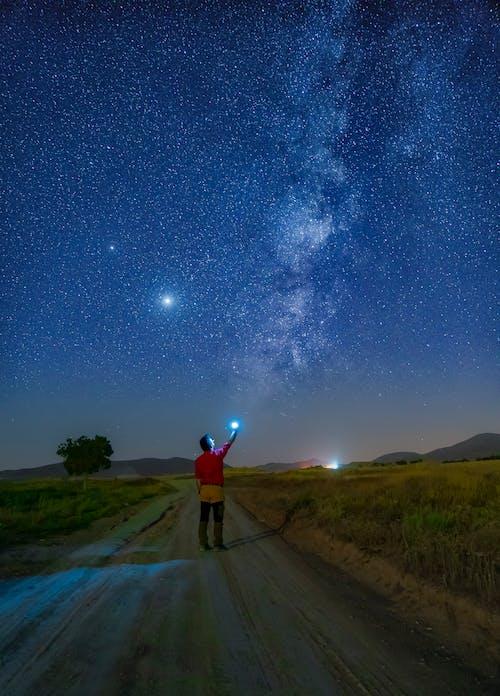 Foto d'estoc gratuïta de a l'aire lliure, astrofotografia, astronomia