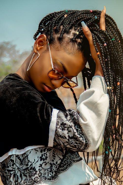 Photos gratuites de accessoire, afro, apparence