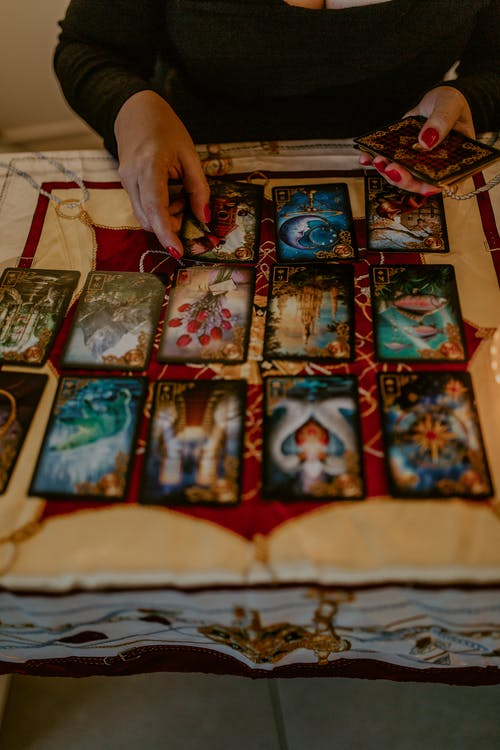 A Person Fortune Telling