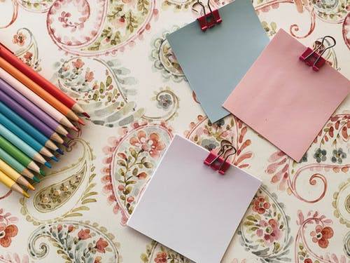 Collection of Stationery Items