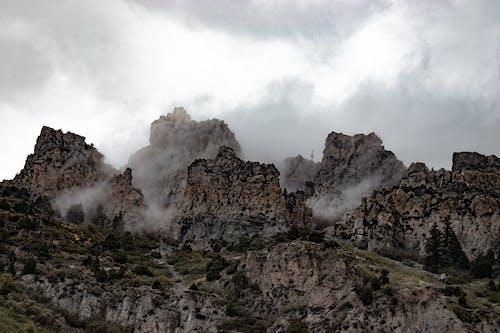 Fotobanka sbezplatnými fotkami na tému mraky, oblaky, obloha pokrytá oblakmi