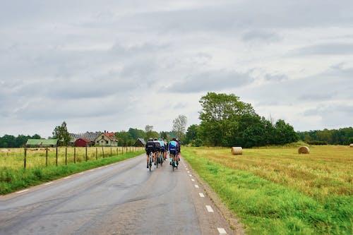 Immagine gratuita di andare in bicicletta, biciclette, campagna