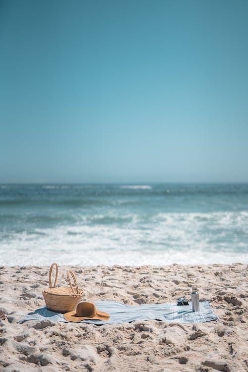 Picnic Setup at the Beach during Daytime