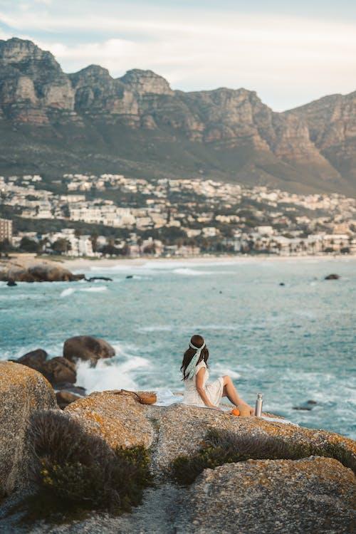 Imagine de stoc gratuită din activități de plajă, agrement, apă, apus