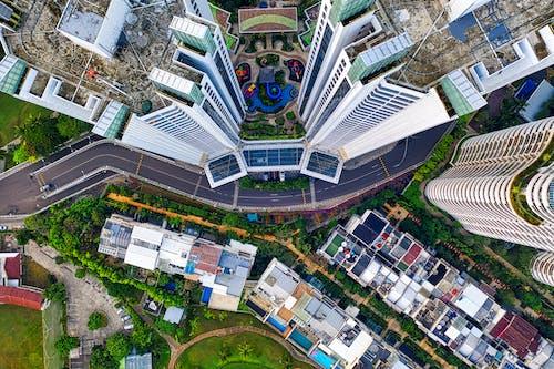 Foto stok gratis Arsitektur, bangunan, bidikan sudut tinggi