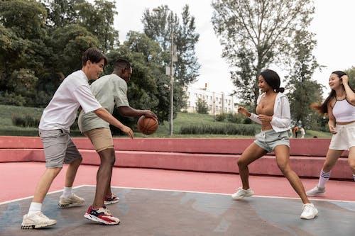 Ilmainen kuvapankkikuva tunnisteilla aasialaiset ihmiset, activewear, afroamerikkalaiset ihmiset, aktiivinen