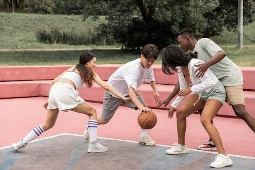 Δωρεάν στοκ φωτογραφιών με casual, lifestyle, streetball, αγώνας