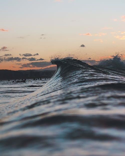 Photos gratuites de aube, bord de mer, caillou, côte