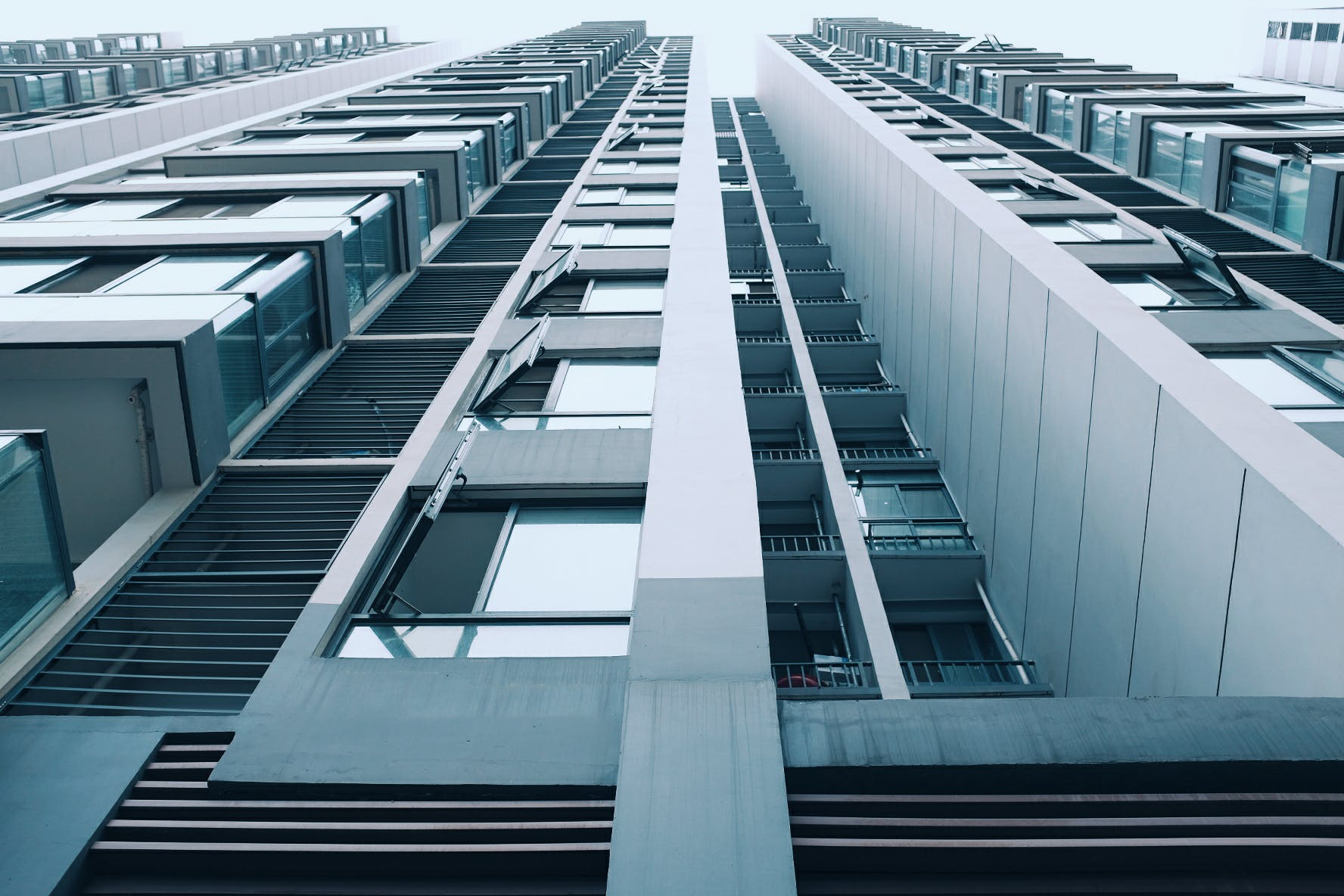 White and Black High-rise Building