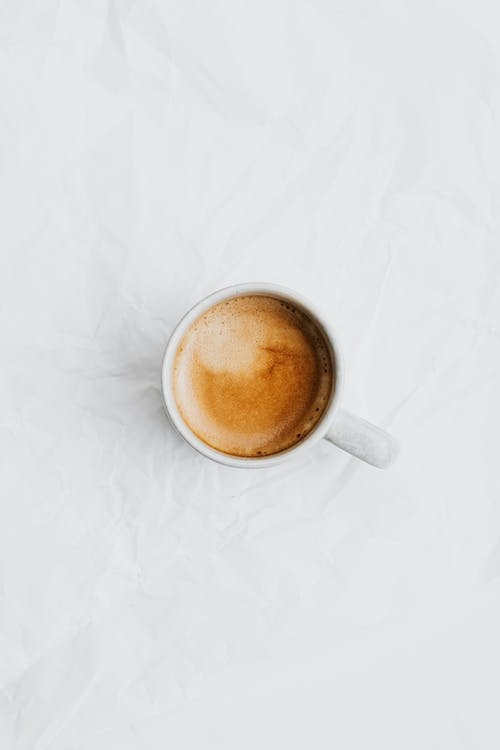 Coffee Drink on White Surface