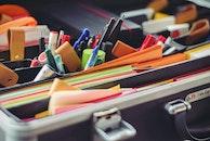 creative, office, pencil
