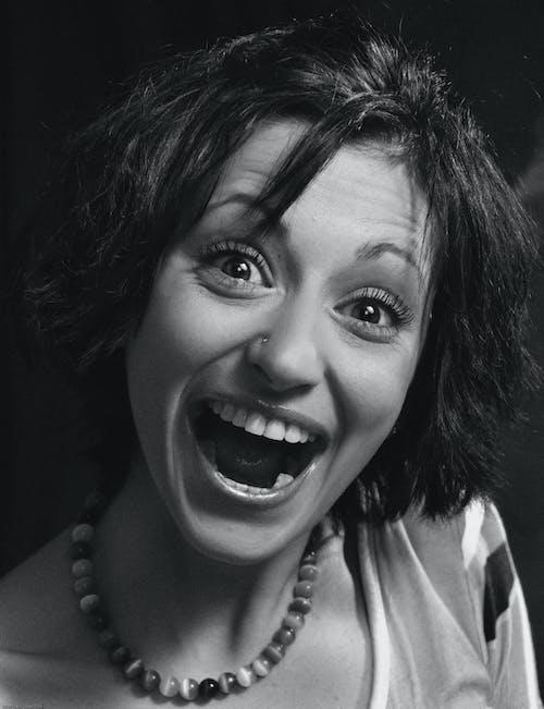 Immagine gratuita di девушка, лицо, монохромный, портрет