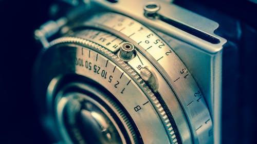 Kostenloses Stock Foto zu antik, kamera, linse, vintage