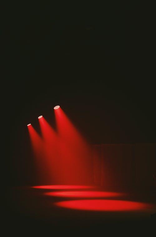 Red Light in Dark Room
