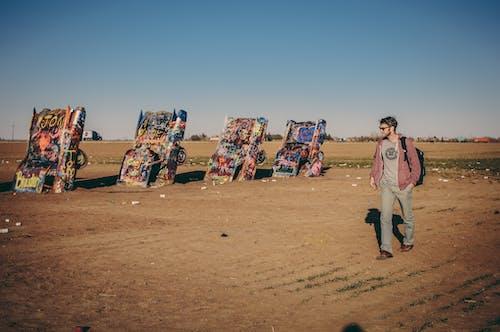 Kostnadsfri bild av bilar, graffiti, konst, man
