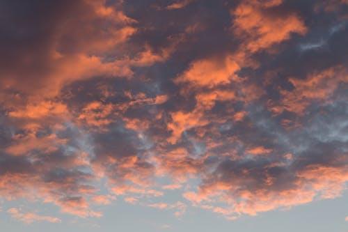 Orange Clouds