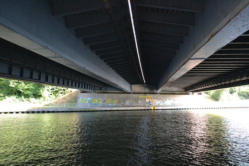 Foto profissional grátis de espaço, ponte