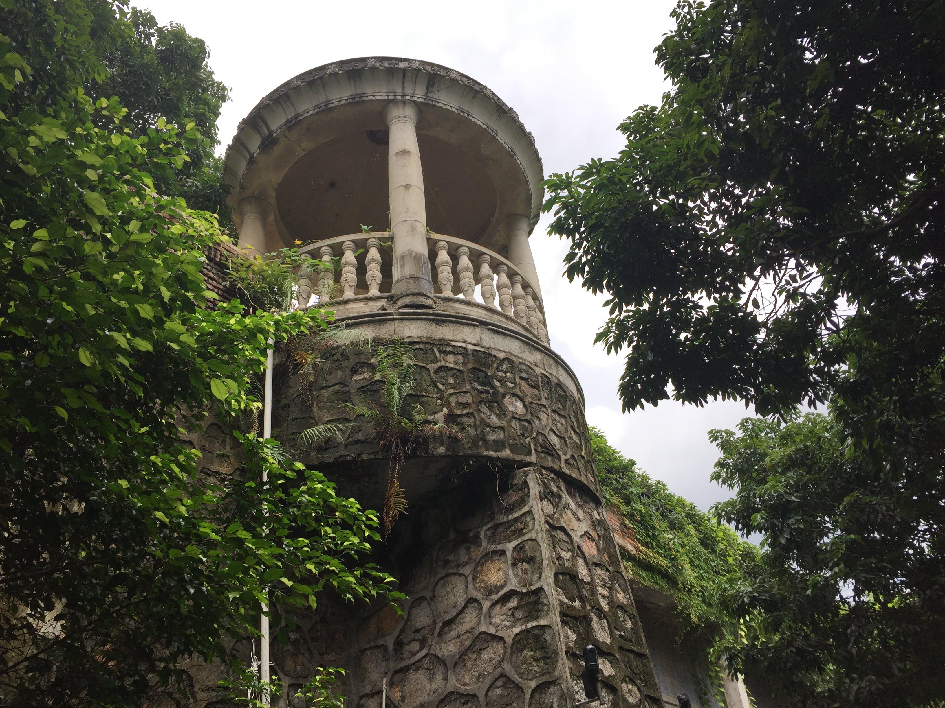 Free stock photo of balcony, castle, dilapidated