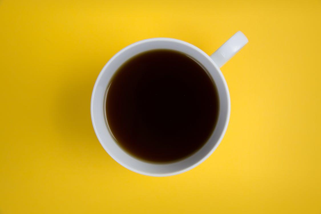 Close-up Photo White Ceramic Cup