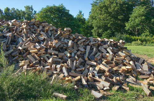 Free stock photo of chopped wood, firewood, fuel, winter