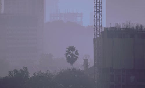 Foto stok gratis Arsitektur, bangunan, biru, cityscape