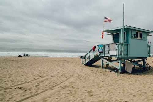 Imagine de stoc gratuită din faleză, nisip, plajă, salvamar
