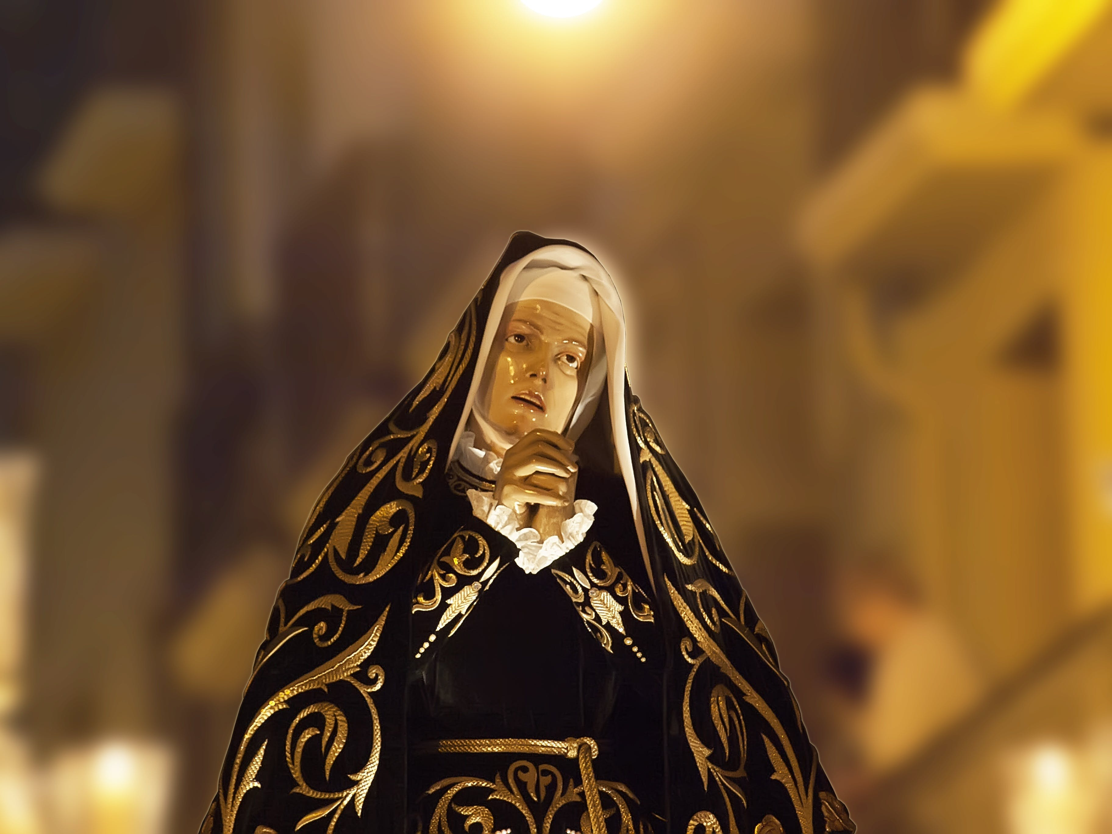 Free stock photo of painful, blessed virgin mary, procession, pamplona