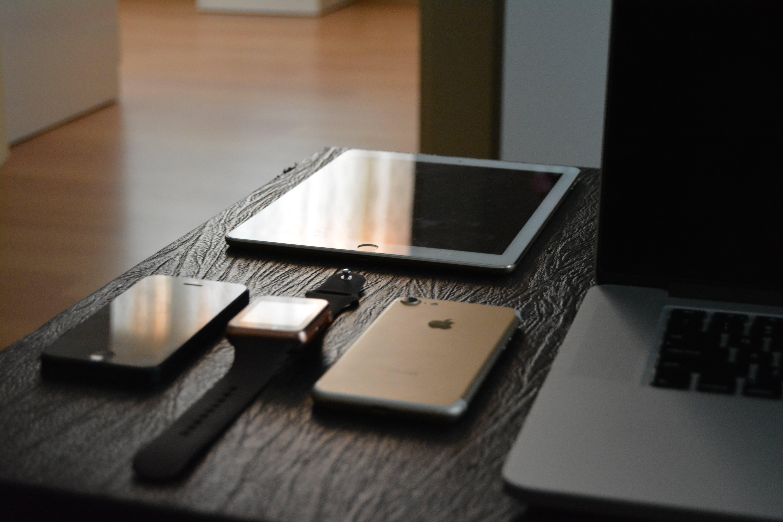 Free stock photo of ipad, imac, apple watch, iphone 5s