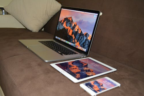 Free stock photo of imac, ipad, iphone