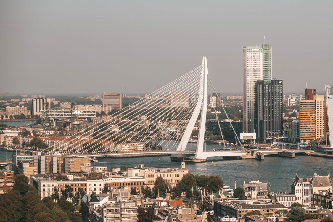 White Bridge over the City