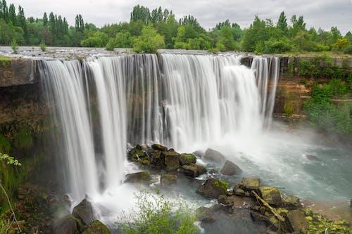 Waterfalls on Brown Rock
