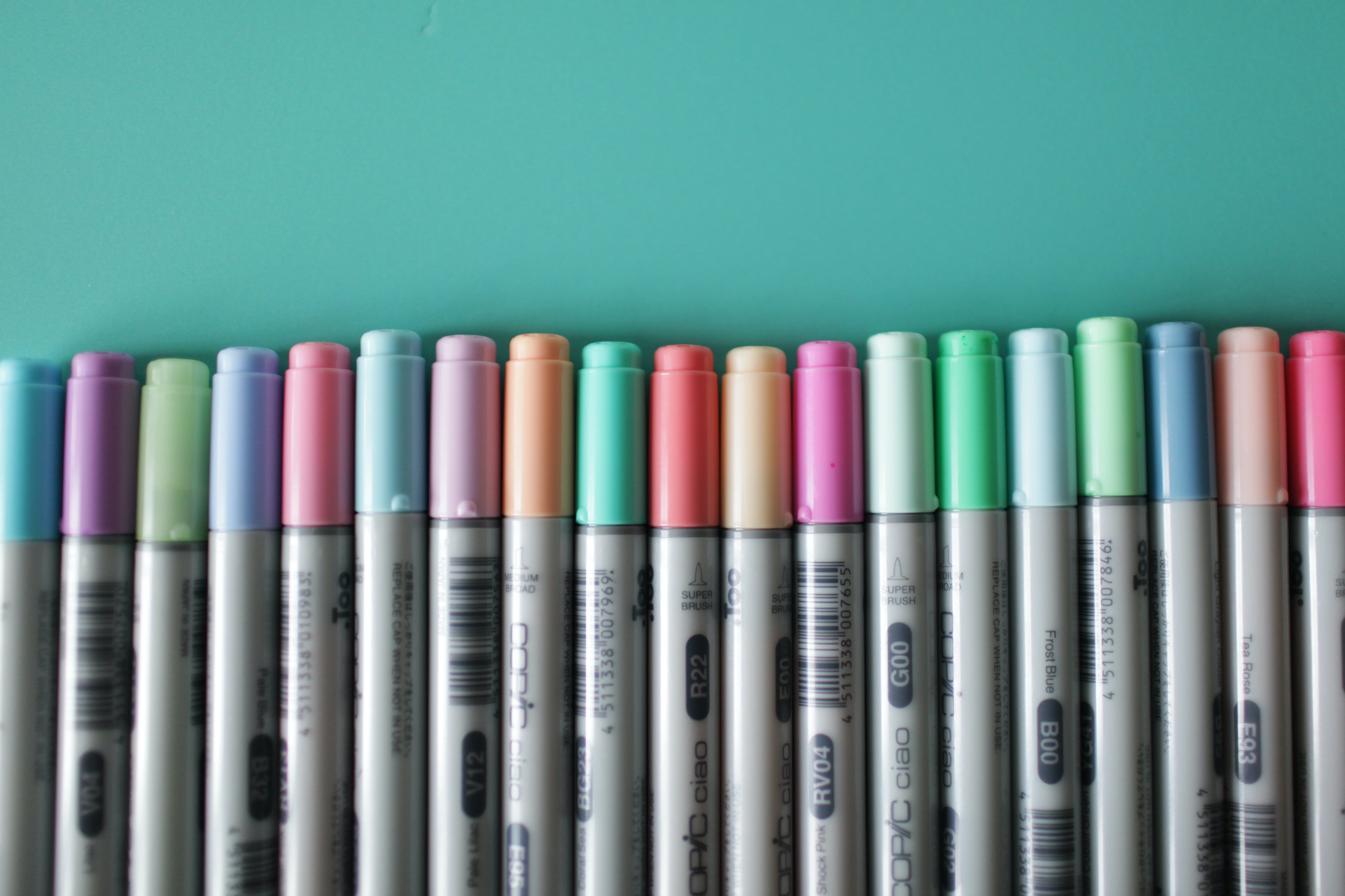 Assorted-color Marking Pen Lot