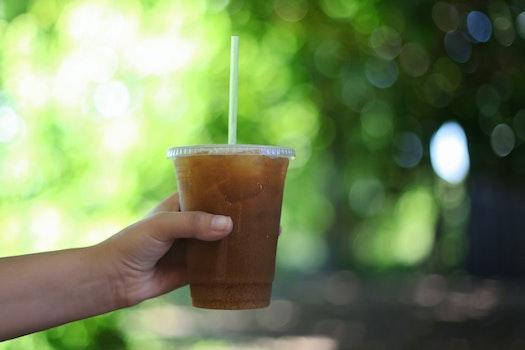 Free stock photo of coffee, hand, colorful, bokeh