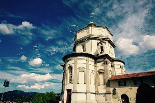 Free stock photo of architecture, azzurro, blue sky