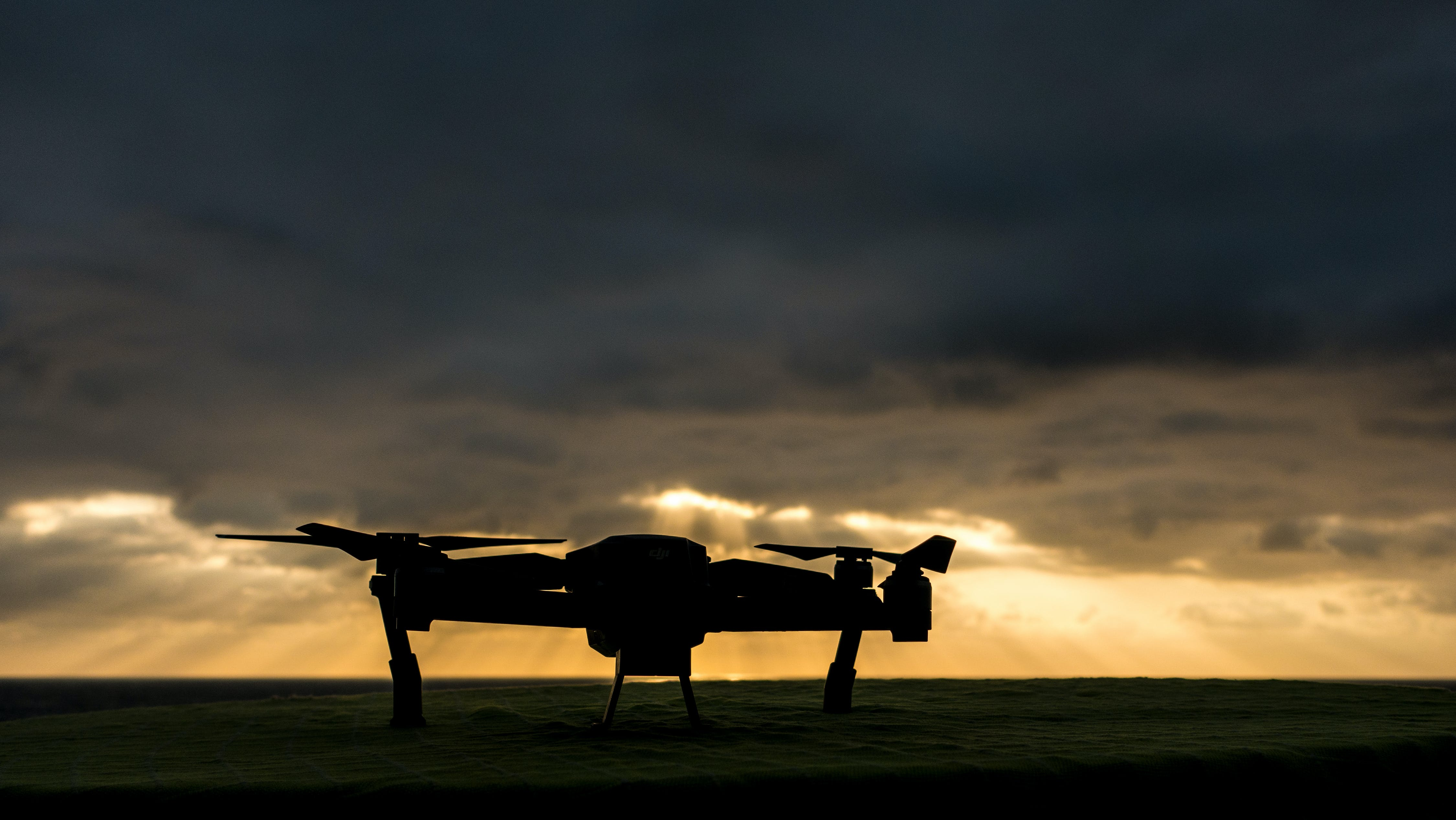 Free stock photo of cloudy sky, drone, drone sunset, mavic pro