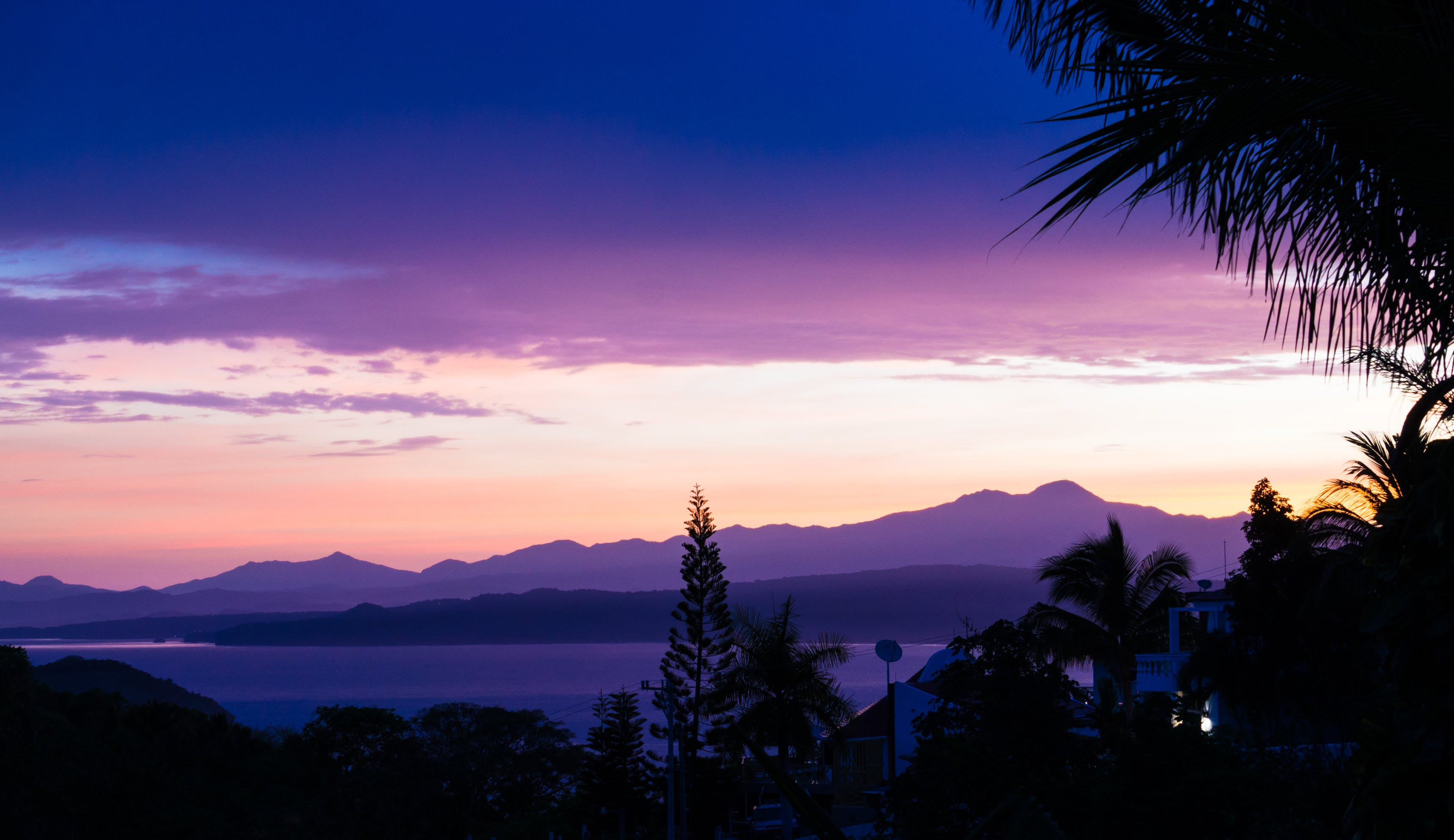 Free stock photo of beautiful moring, mexico, mountains, pink sky