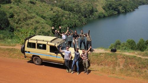 Fotobanka sbezplatnými fotkami na tému Afrika, Kráterové jazero, mladá skupina, Safari