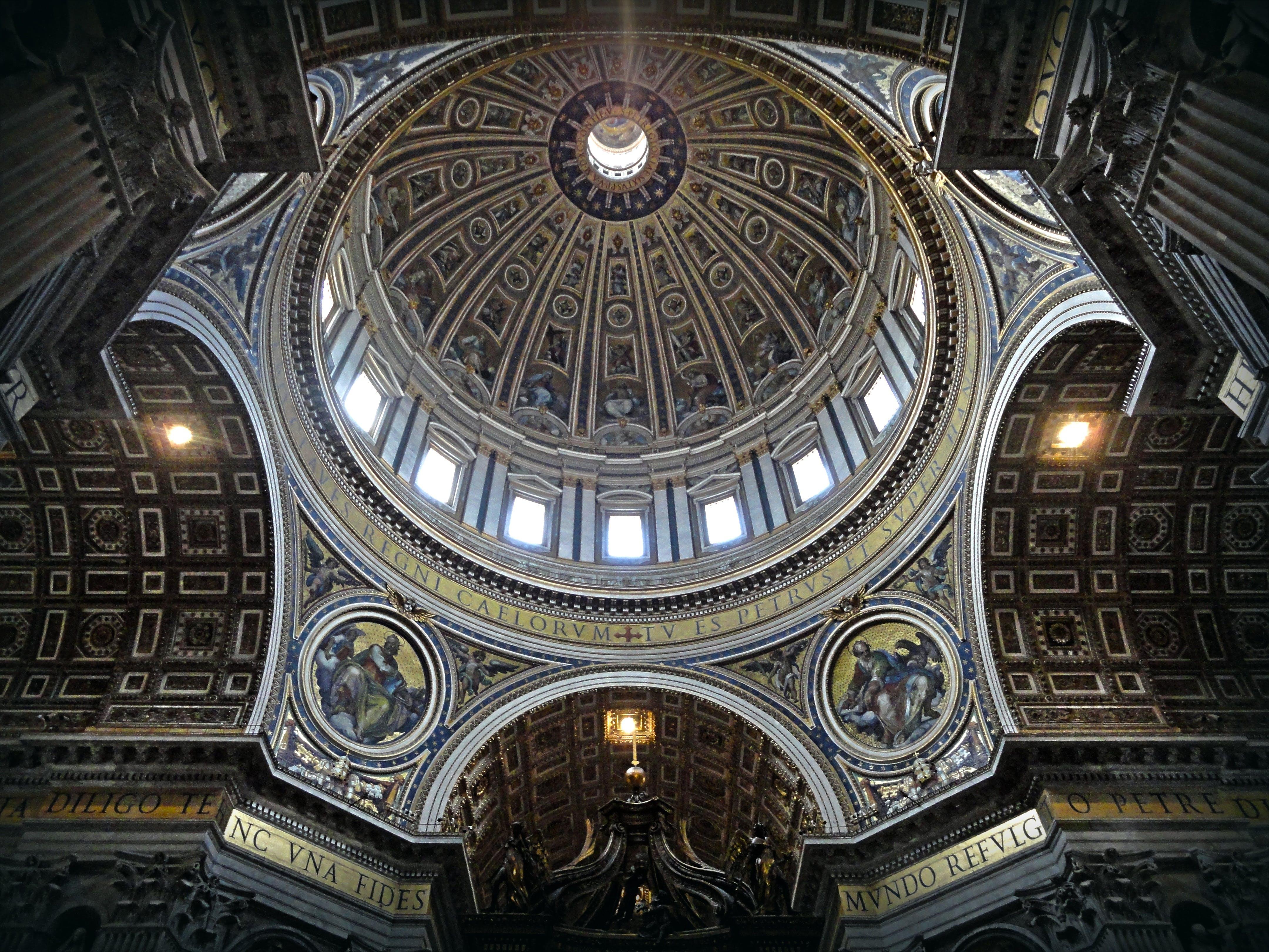 alt, architektur, basilika