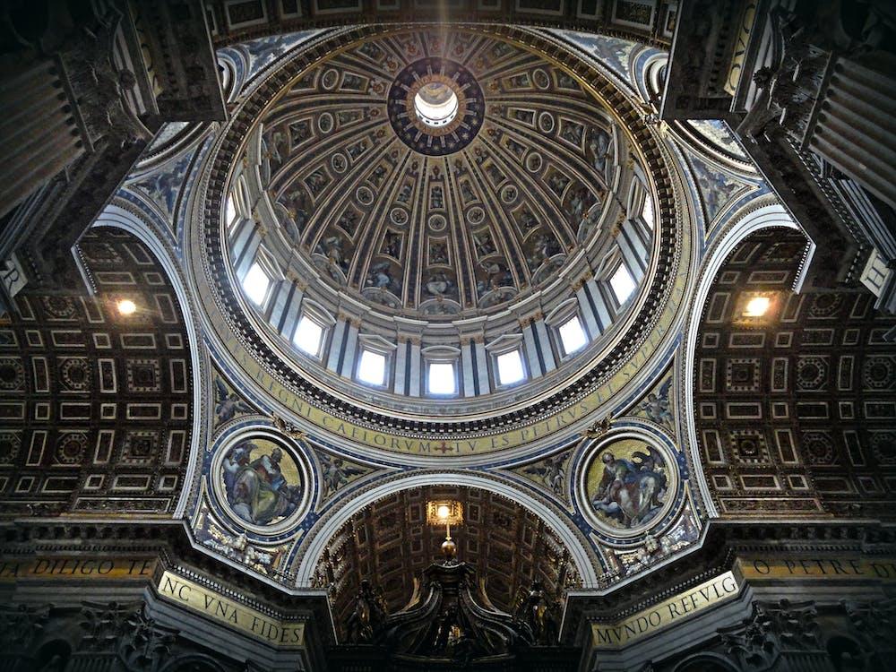 內部, 古老的, 大教堂