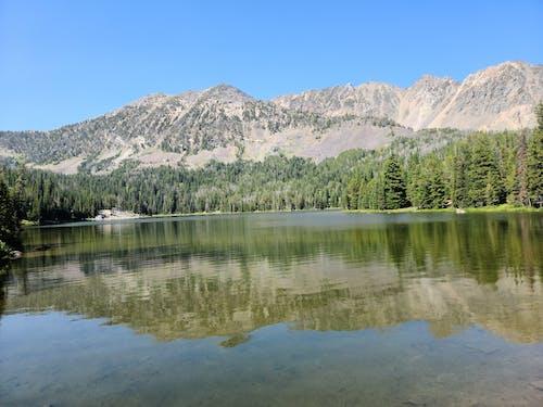 Free stock photo of beautiful scenery, lake reflection, mountain area