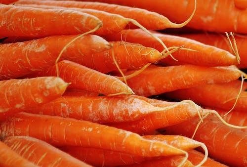 Foto profissional grátis de alimento, cenouras, close, cultivo
