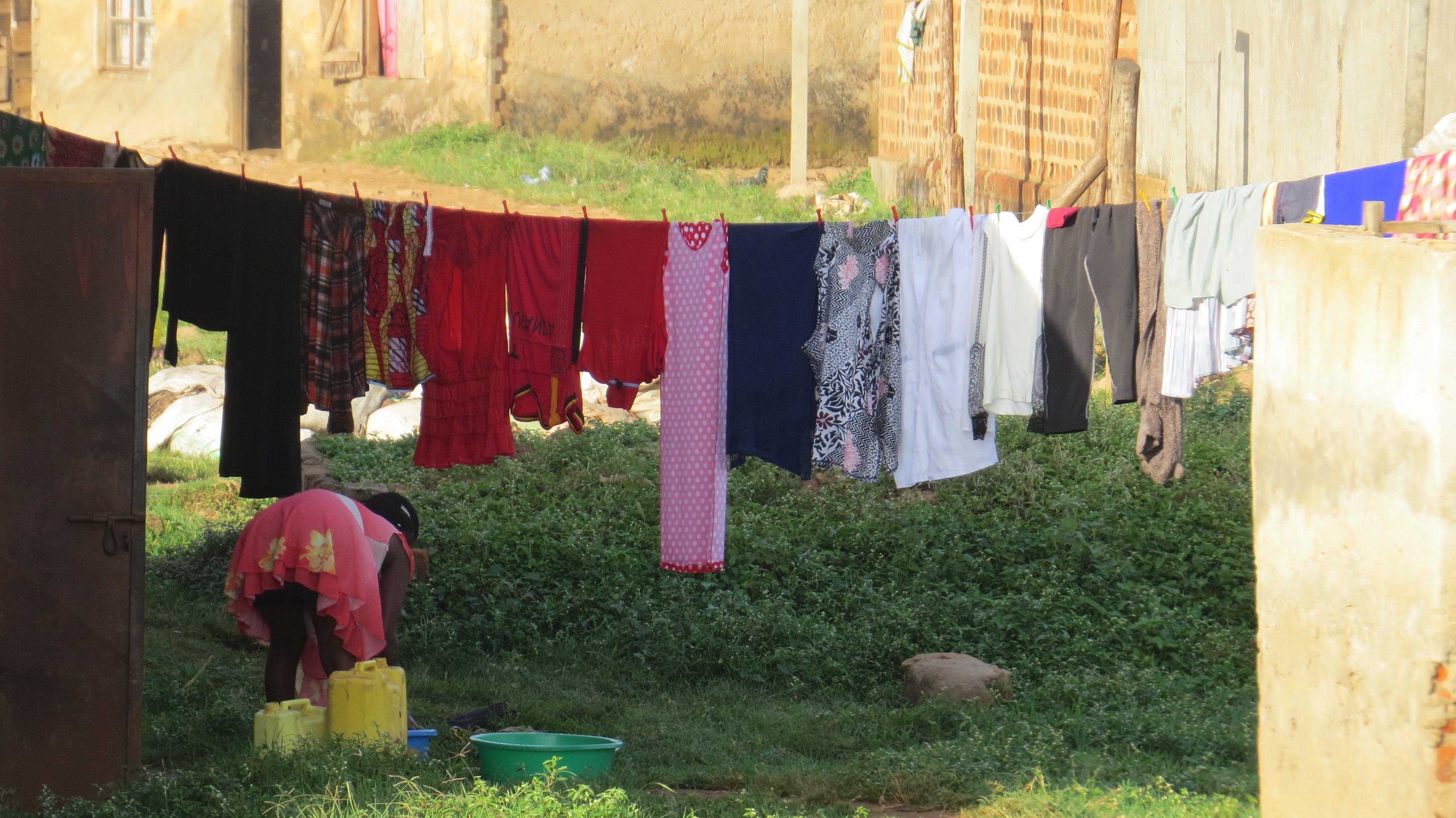 Free stock photo of africa, african woman, Kampala, laundry