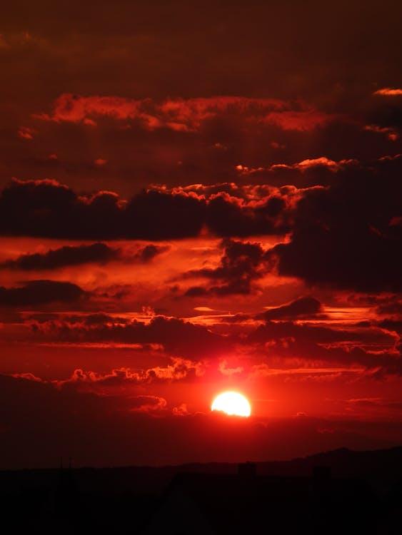bầu trời, bình minh, danh lam thắng cảnh