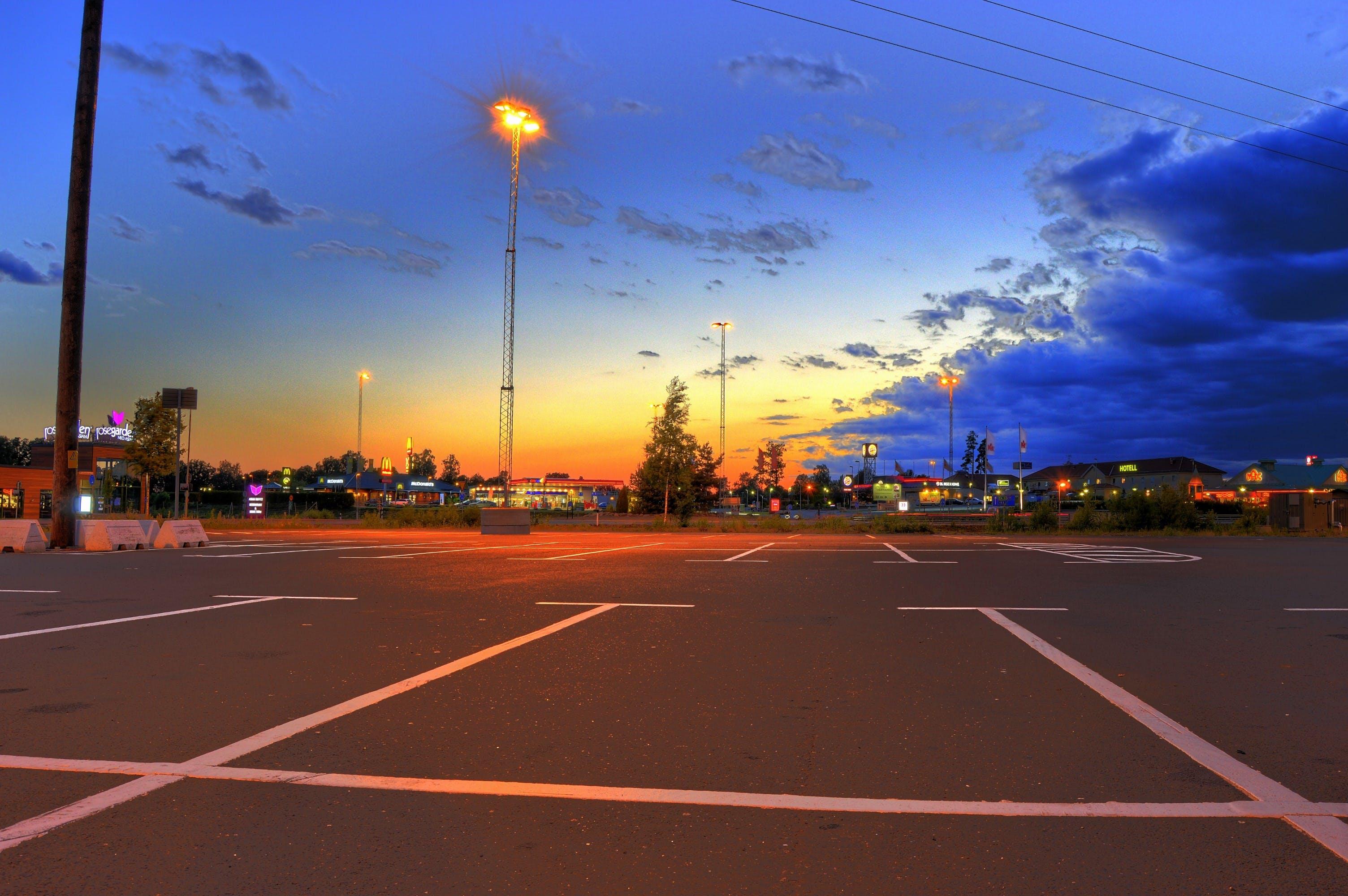 Free stock photo of sky, sunset, lights, night