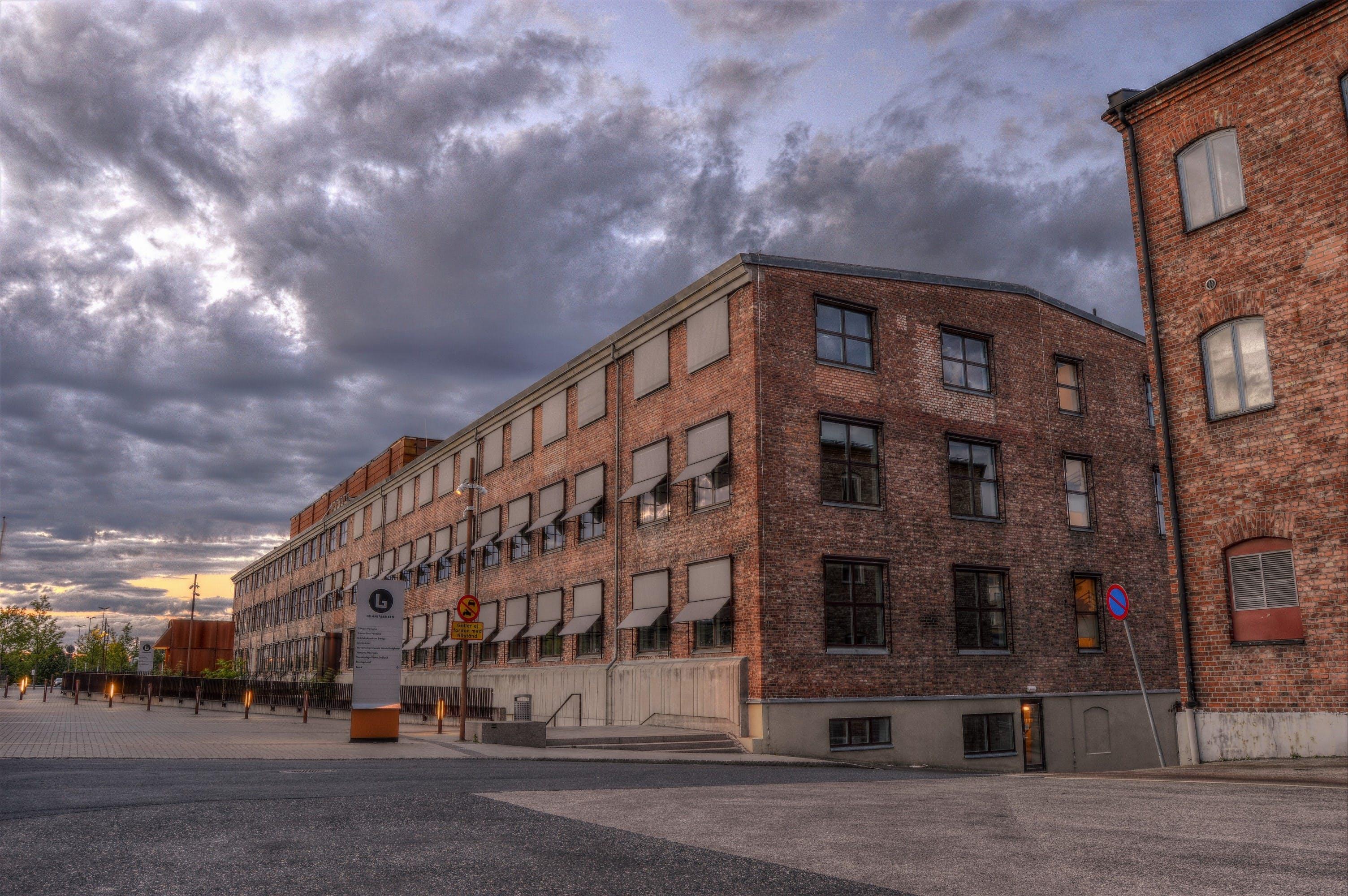 hdr, れんが壁, グミファブリケン, スウェーデンの無料の写真素材