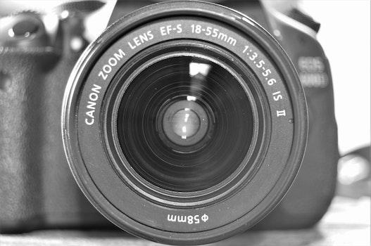 Free stock photo of camera, lens, inside, canon
