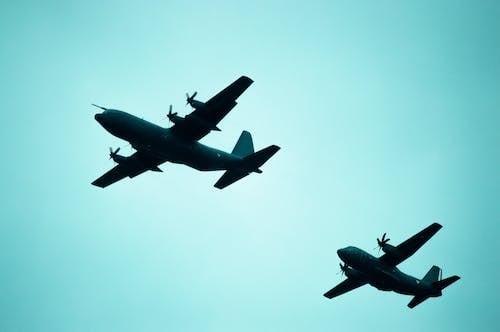 Immagine gratuita di aereo, aereo di linea, aeronautica militare, aeroplano