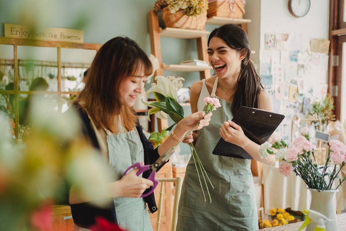 apron, aroma, Asyalı kadın içeren Ücretsiz stok fotoğraf