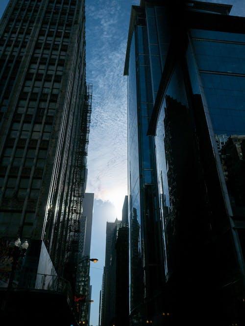 개요, 검은색, 구름, 그림자의 무료 스톡 사진