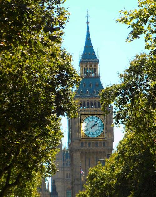 Základová fotografie zdarma na téma Big Ben, hodinová věž, Londýn